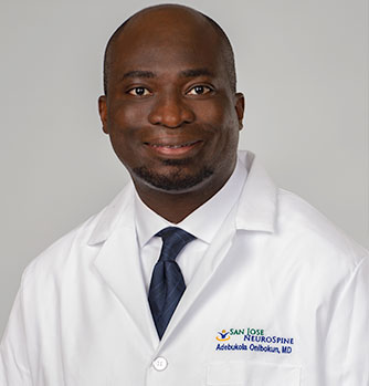 Dr Adebukola Onibokun, spine surgeon san jose, laser spine surgery Monterey